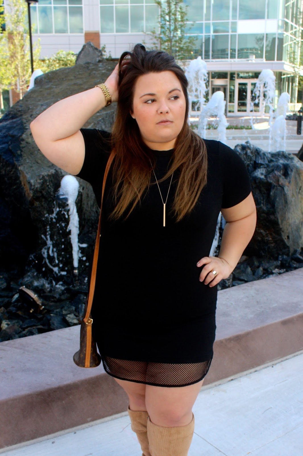 LITTLE BLACK DRESS | Natalie in the City - A Chicago Plus Size ...
