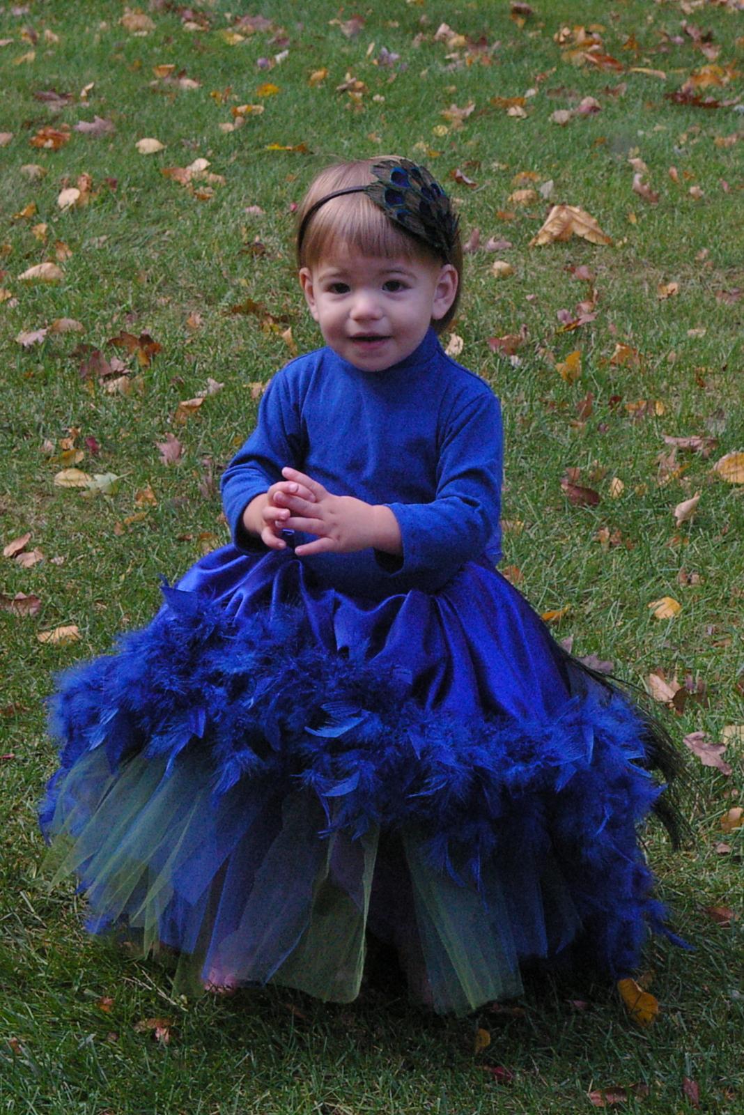 stitching sprinkles: peacock on parade
