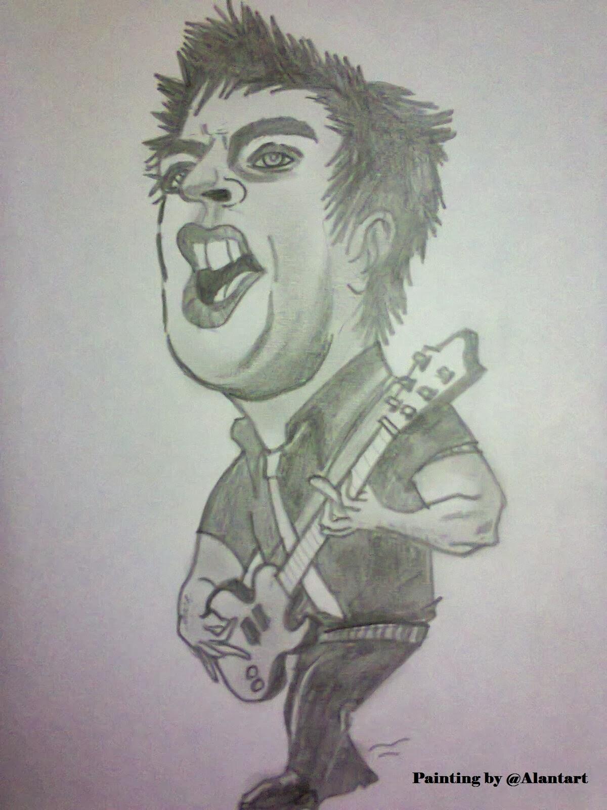 Gambar Kartun Keren Dengan Pensil