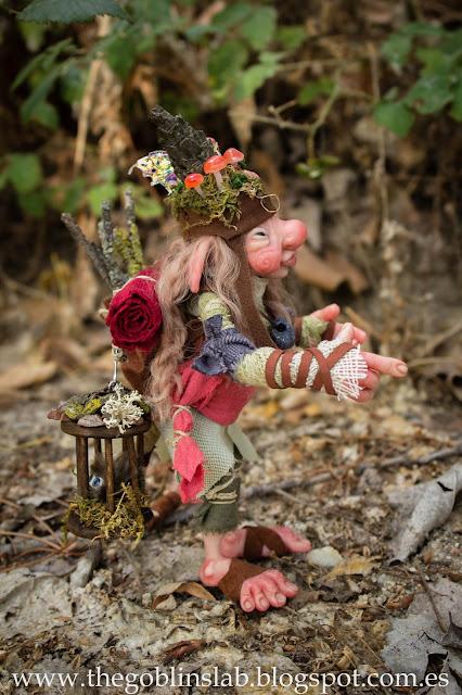 handmade goblin ooak fantasy artdoll