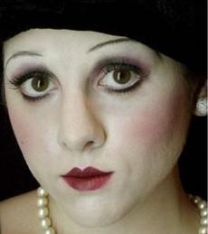 maquillaje años 30 historia
