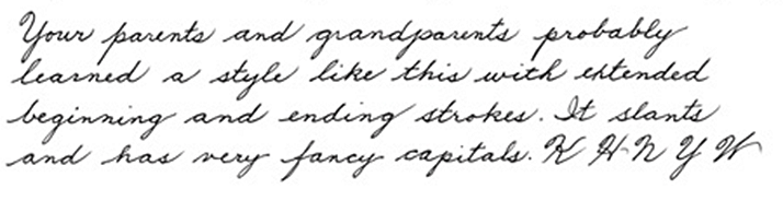 how to get better looking handwriting