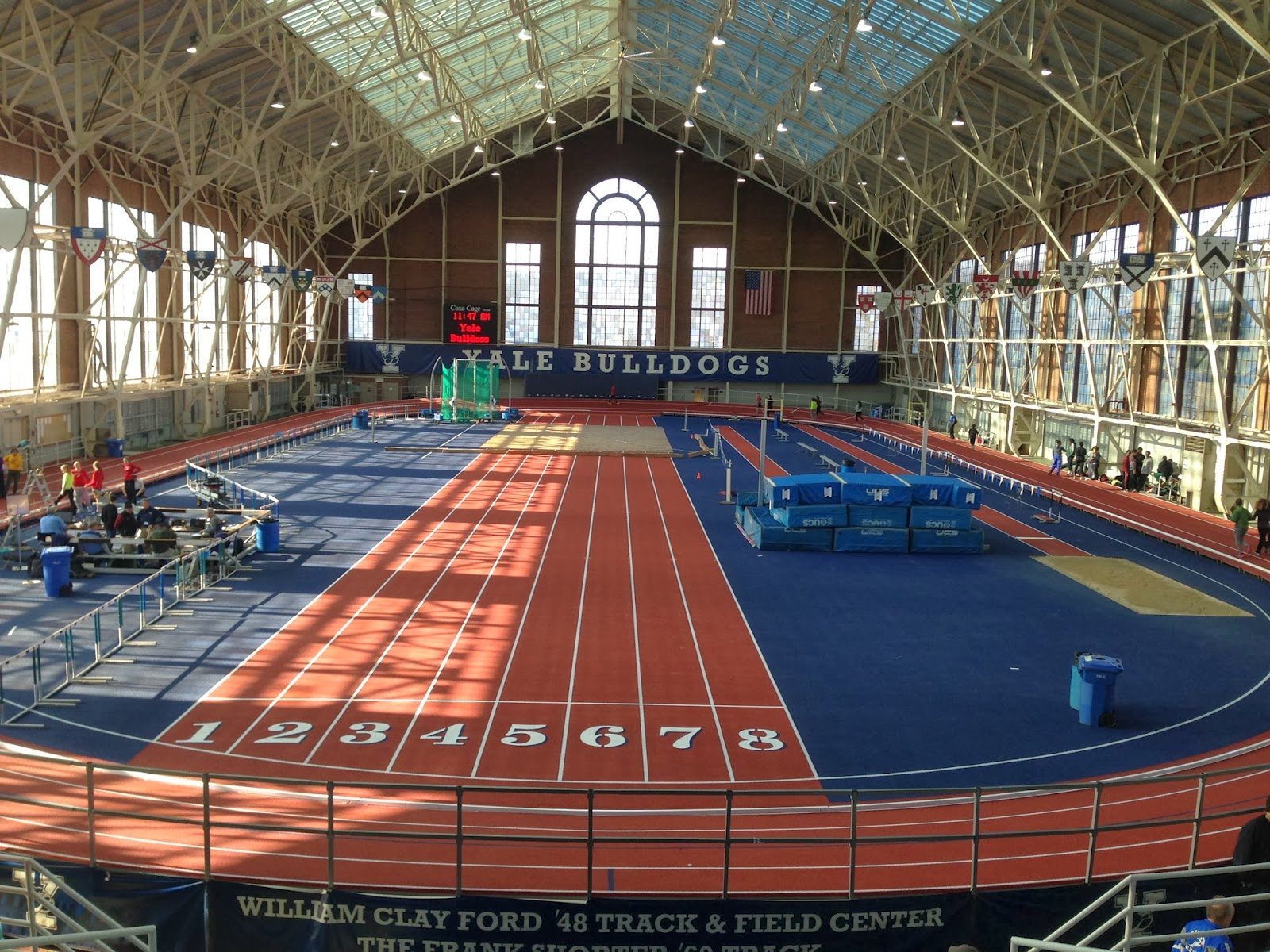 The Blue Wave Sports Blog: Girls Indoor Track Team Races ...