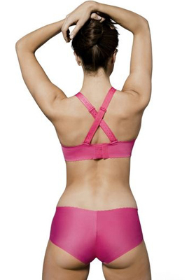Sujetador y shorty ropa interior para deporte mujer feel beautiful Domyos Decathlon