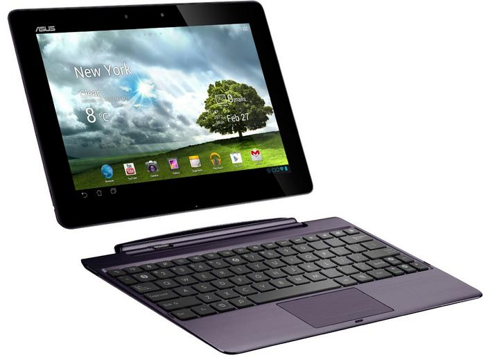 Asus Transformer Prime TF700T - Full tablet specifications
