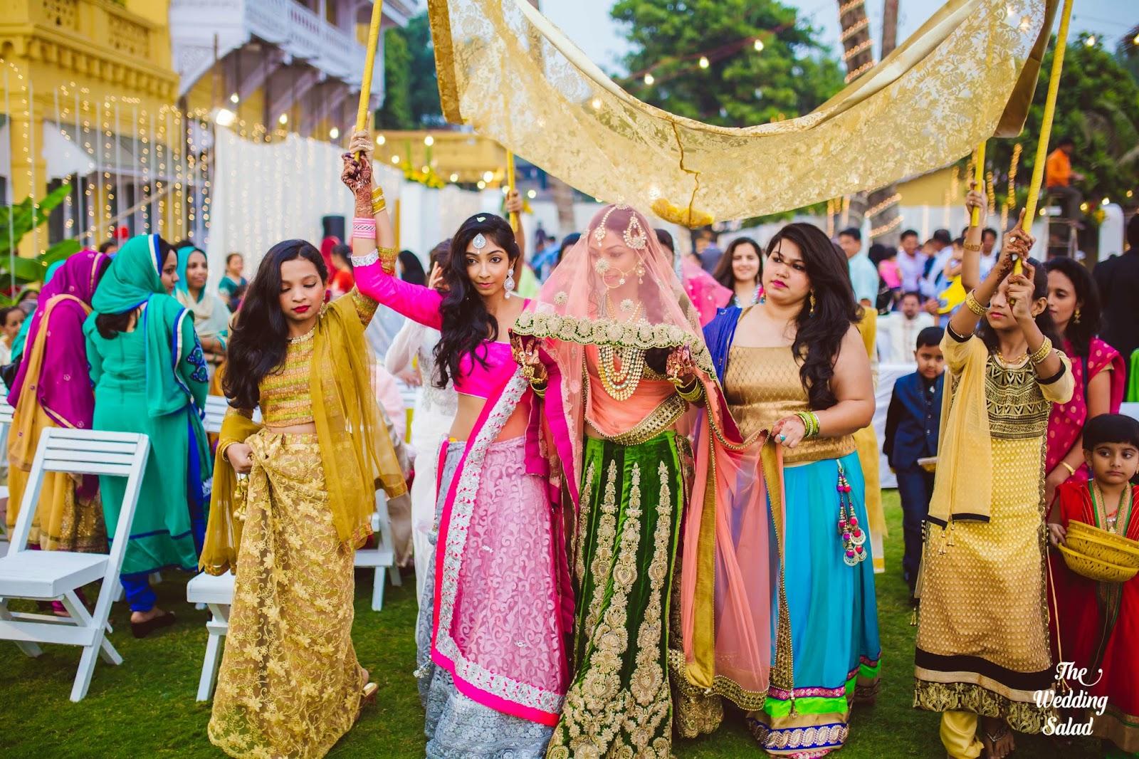 Vahi & Faisal Seaside Nikah Mumbai The Wedding Salad