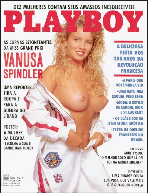 Vanusa Spindler - Playboy 1989