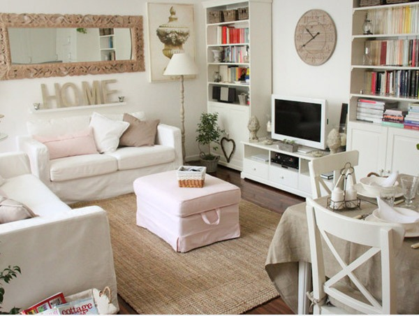 Cute Pinterest Shabby Chic Living Rooms