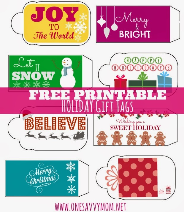 """image regarding Free Printable Holiday Tags called A person Savvy Mother â""""¢ NYC Room Mother Site: Absolutely free Printable"""