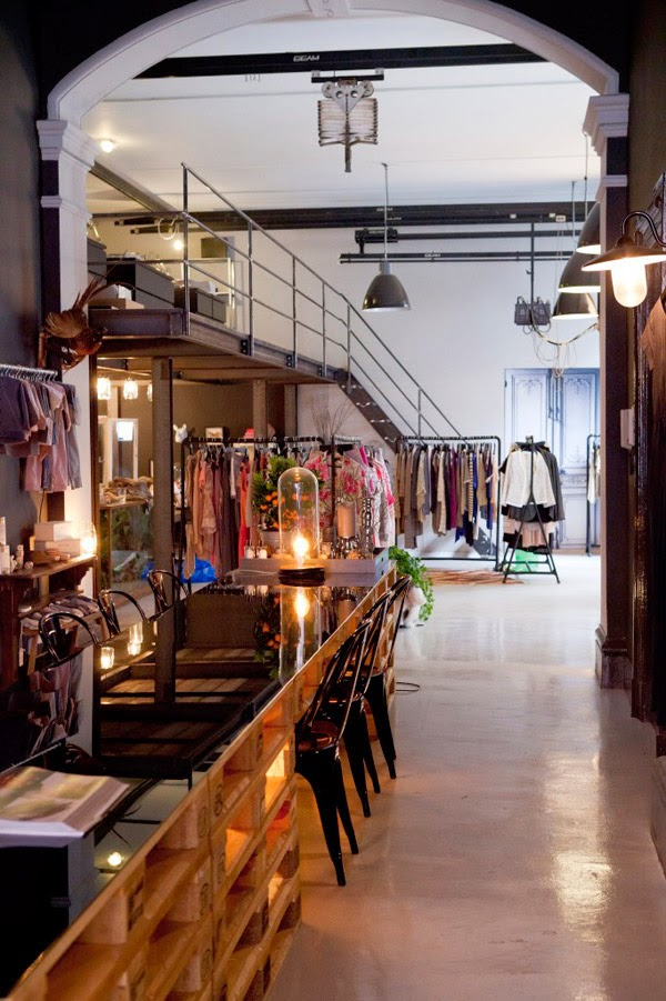 Vámonos de shooping con aire industrial · Let's go shopping, industrial style: The Collectors. Amsterdam