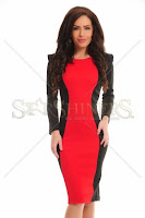 Rochie StarShinerS Eternity Red (StarShinerS)