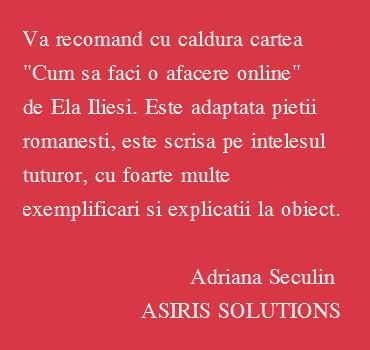 Adriana spune