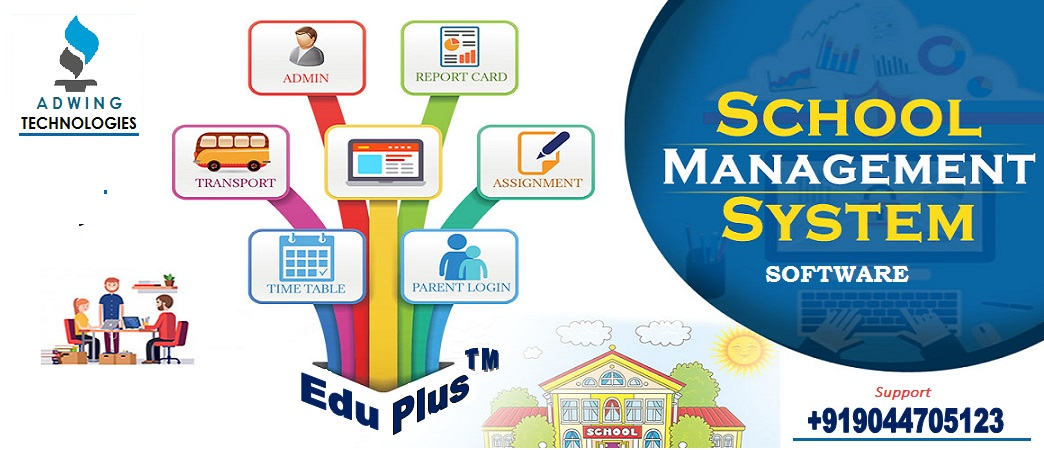 Adwing Technologies: Online Classes School Management Software,Fees,Home Work With Mobile Apps