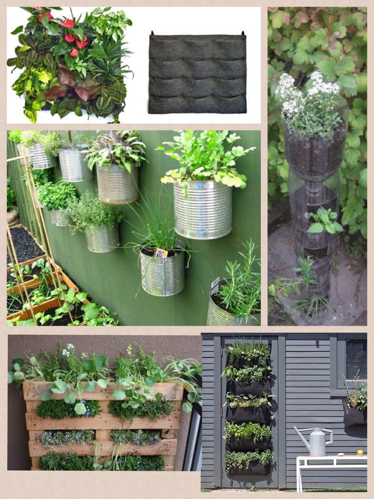 Voglia di verde balcone piccolino orti verticali for Giardino verticale balcone