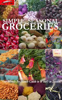 Book cover for Simple. Seasonal. Groceries.