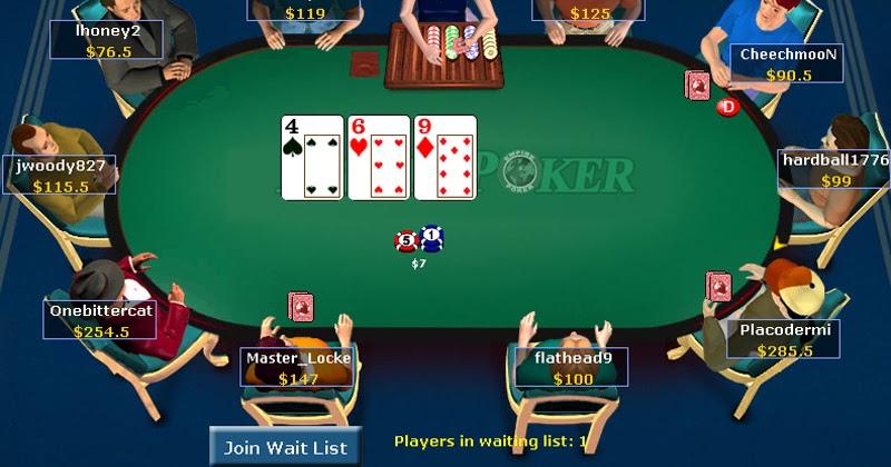 Gambling poker games