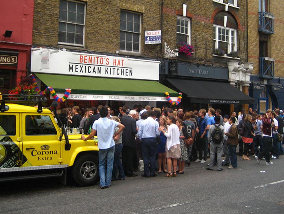 bra restauranger london