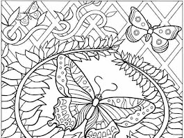 Awesome Mandala Coloring Pages