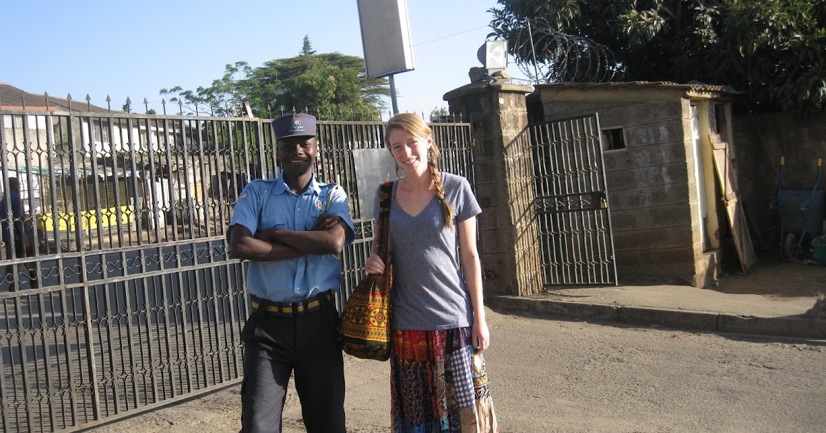 Molly to Kenya: My Security Guard is Wooing Me