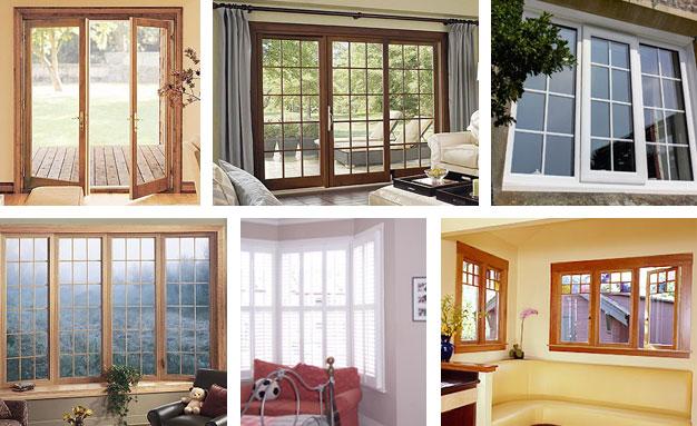 dan Pintu Panel, Jendela & Kicthen Set: Model Kusen, Pintu dan Jendela ...