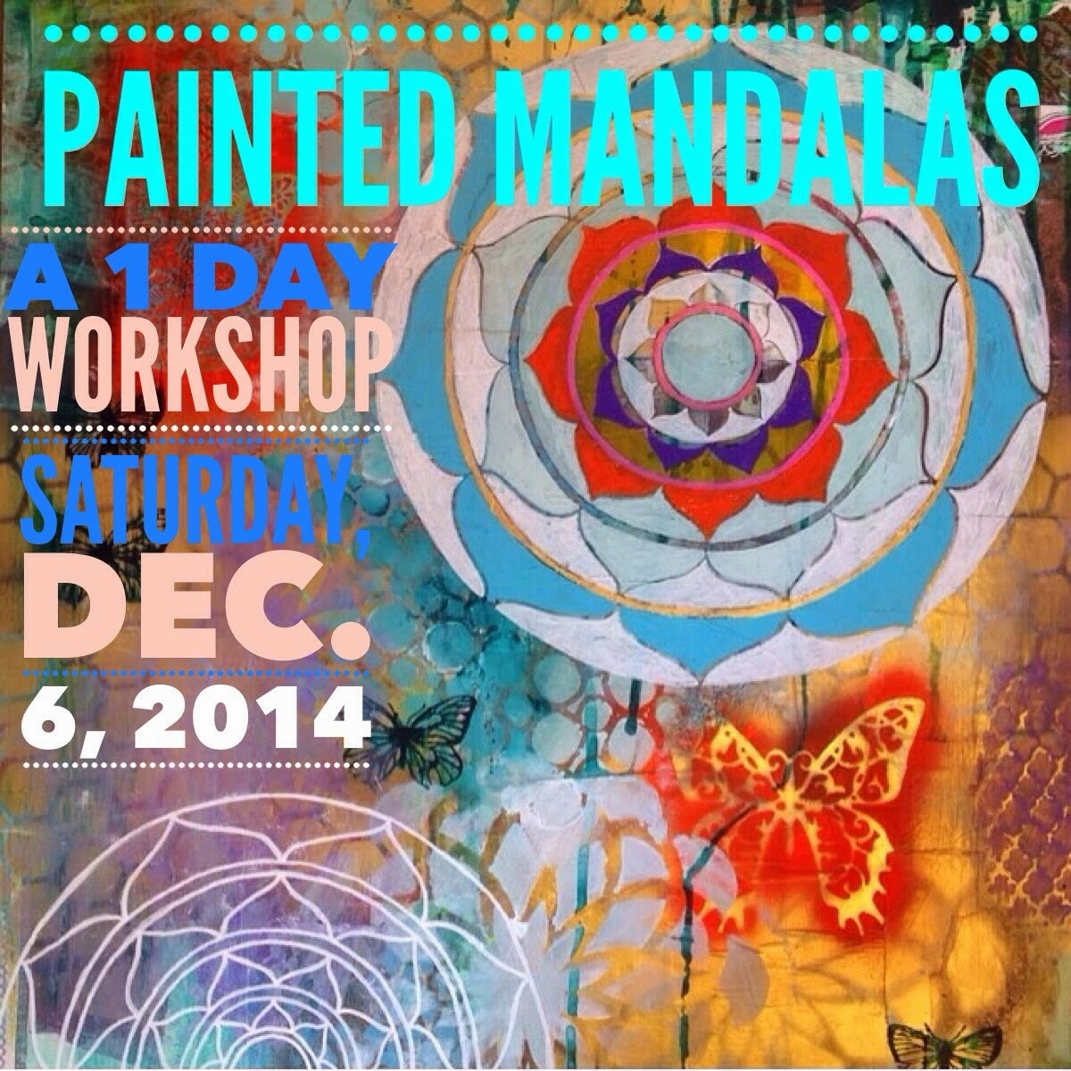 I'm teaching two exciting workshops in Charleston this month! Click on the buttons for more info!