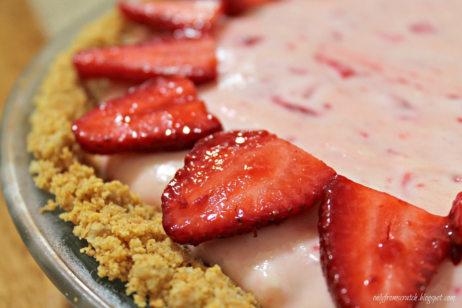 Only From Scratch: It's Strawberry Time & a Strawberry Tart Recipe