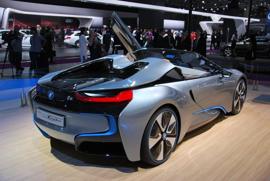 Mobil Bmw i8 i8 Spyder Concept From Bmw