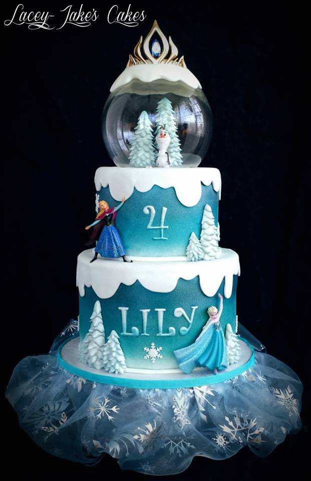 Cake Blog Frozen Snow Globe Cake