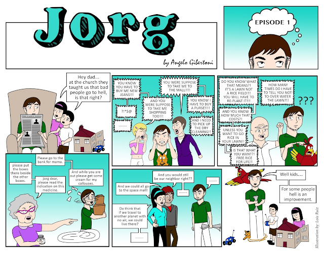 Jorg: Kids, for some people hell is an improvement