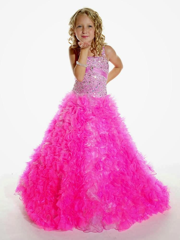 Lindos Vestidos de fiesta para niña | Moda y Tendencias