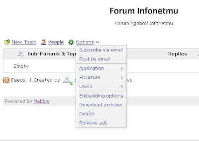 Forum  Di Blog