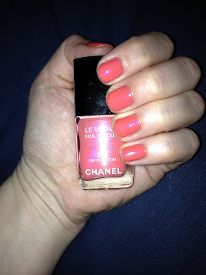 Chanel, Chanel nail polish, Chanel Le Vernis Nail Colour, Chanel mani, Chanel manicure, Chanel Spring 2012 nail polish collection, Chanel Distraction, Chanel Distraction nail polish, Chanel Distraction Le Vernis Nail Colour, nail, nails, nail polish, polish, lacquer, nail lacquer, mani, manicure