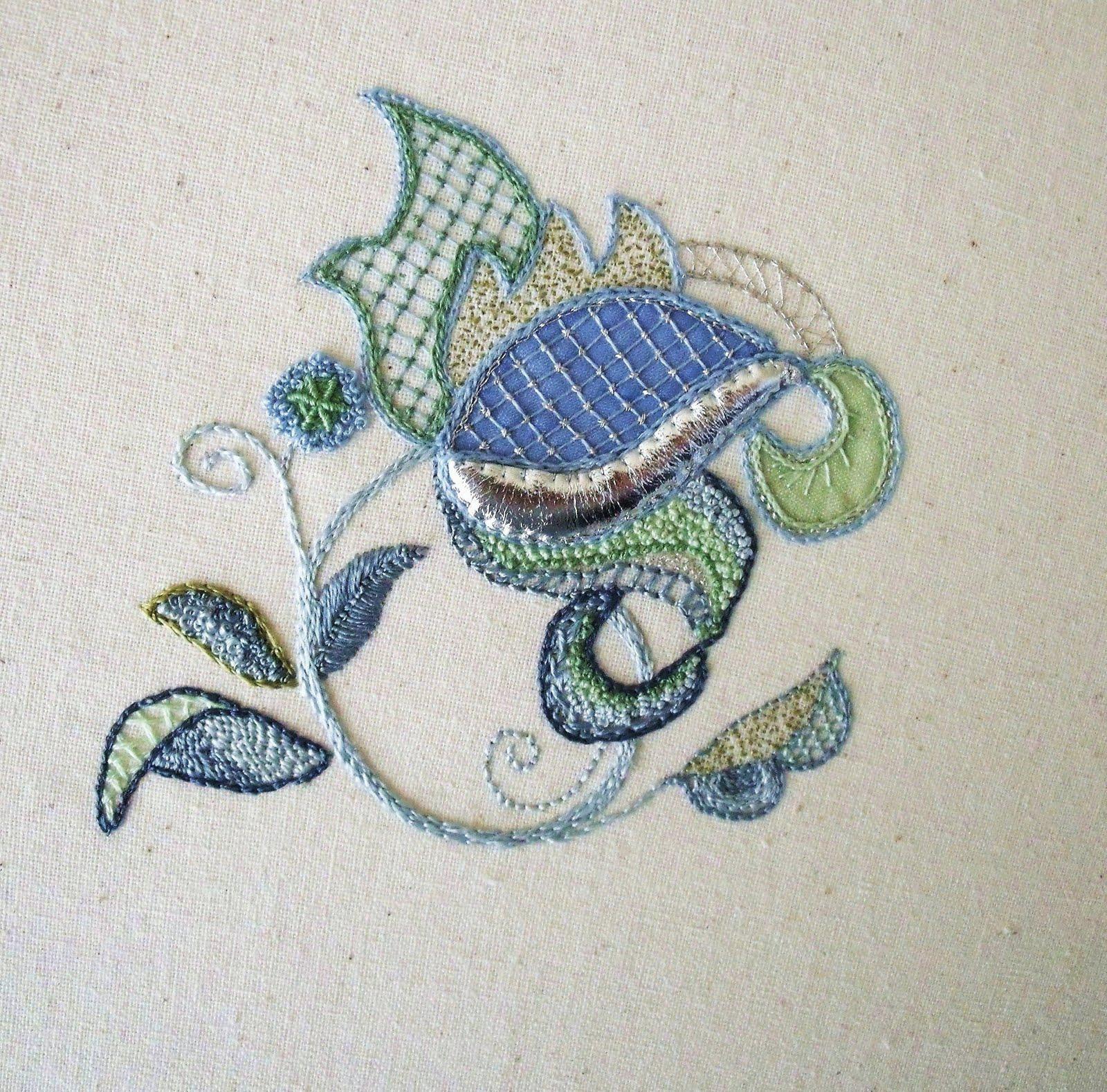 Carole Johnston Jacobean Embroidery