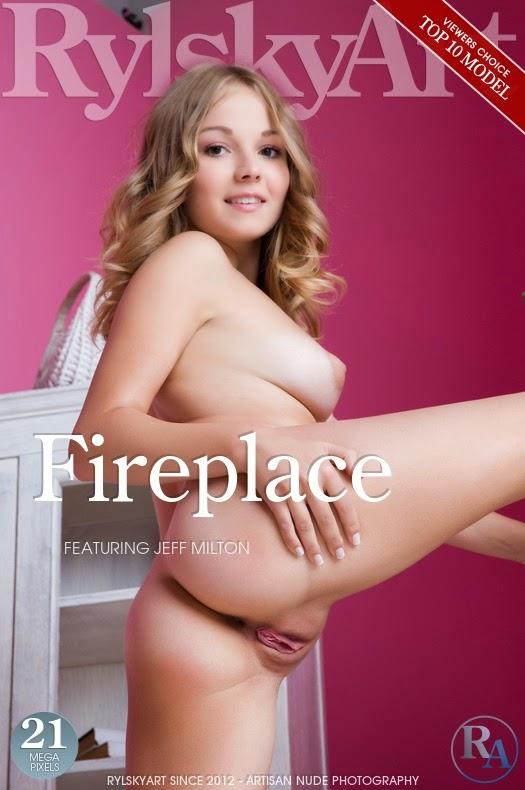 RylskyArt 2015-01-01 Jeff Milton - Fireplace 12070