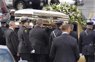 Whitney Houston's Coffin