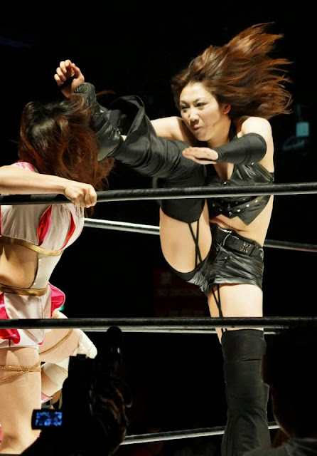 Yumi Ohka - Japanese Female Wrestlers