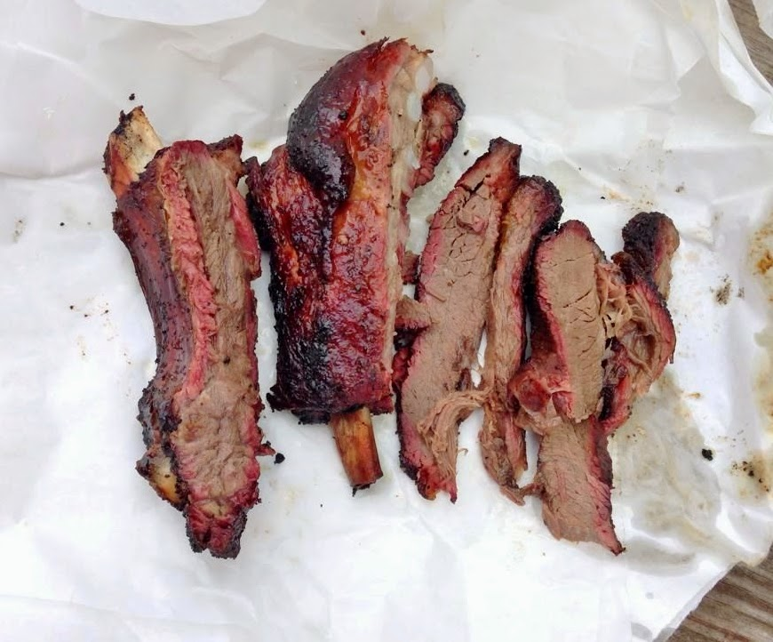 Pork Ribs, Beef Ribs, Brisket at Brown's BBQ