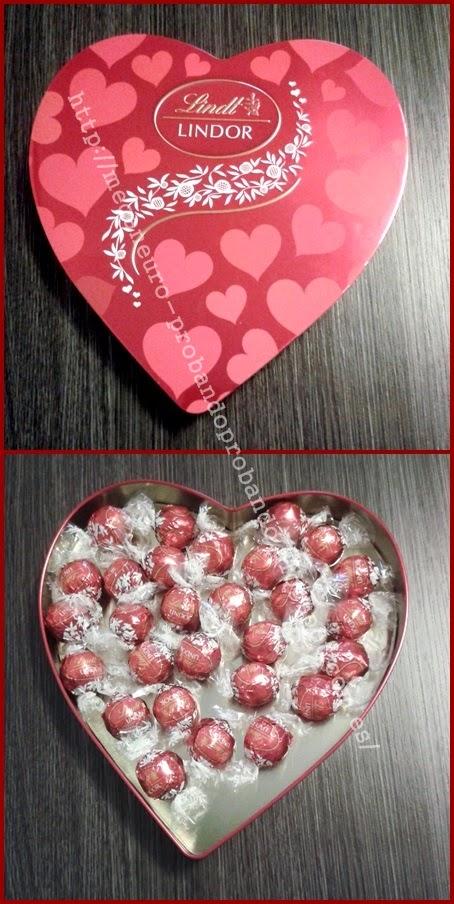 Bombones Lindor San Valentín Corazón LINDT