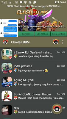 Download BBM Mod Clash Of Clans Version 2.10.0.31 APK