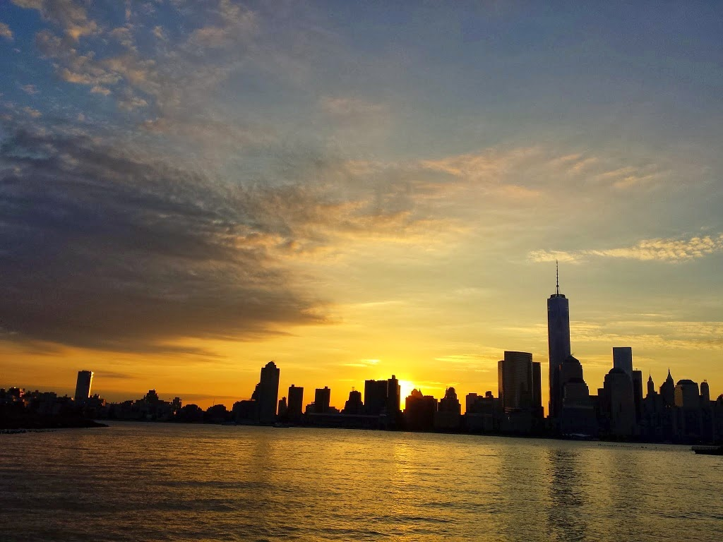 Sunrise over the Freedom Tower