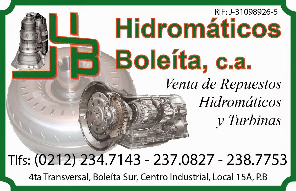 HIDROMATICOS BOLEITA, C.A. en Paginas Amarillas tu guia Comercial