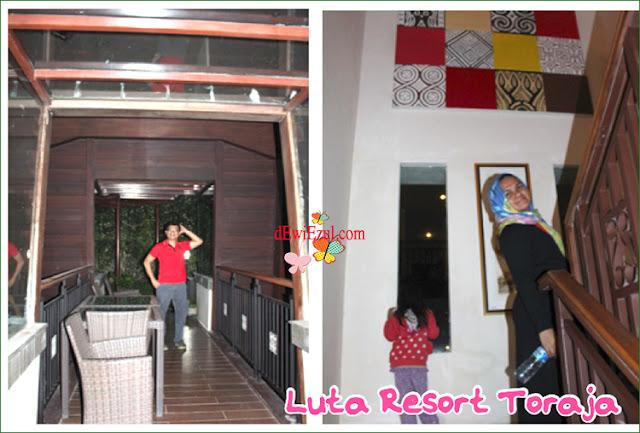 menginap di Luta resort Rantepao Toraja
