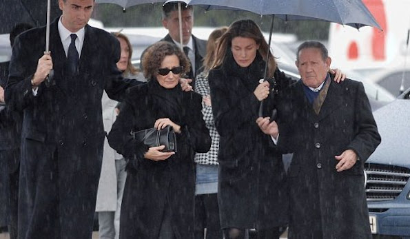 Queen Letizia of Spain's grandfather dies at the age of 98. Francisco Rocasolano passed away at the University Hospital of Salamanca