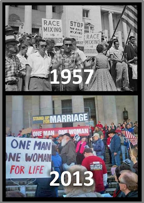 same sex marriage, marriage equality, civil rights, 1957, Little Rock