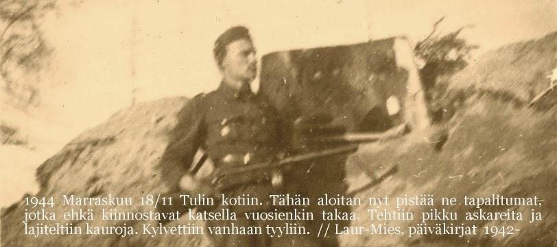 Laur-Miehen päiväkirjat 1942-