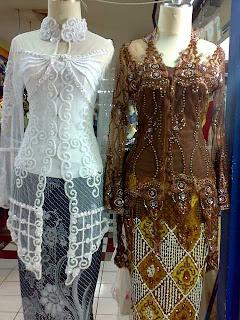 Model Baju Kebaya Pengantin Modern