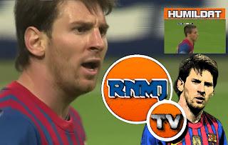 La bronca de Messi a Tello por no dársela en una clara ocasión de gol fue tremenda