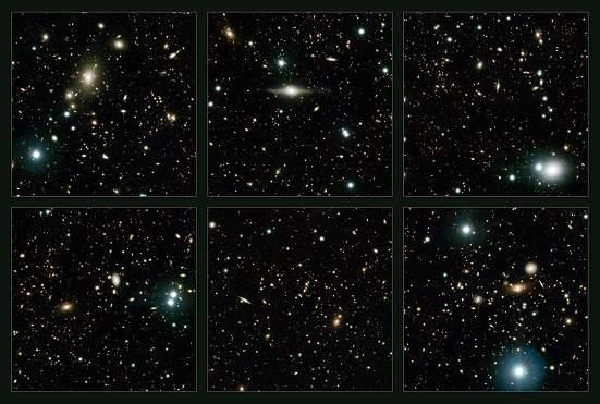 Astrônomos ganham uma nova VISTA das profundezas do cosmos