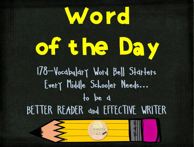 http://www.teacherspayteachers.com/Product/Word-of-the-Day-CCSS-Word-Work-for-Middle-School-267045