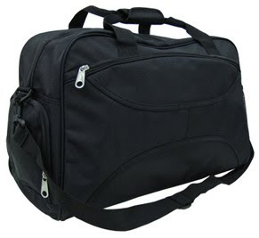"CENTRUM LINK - ""Platinum Black Traveller Bag"" - PC-1794"
